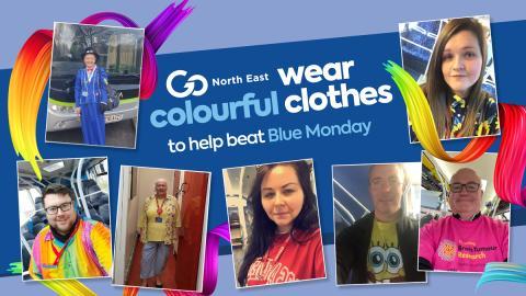 Go North East lightens mood across the region on Blue Monday