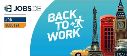 "Banner-Motiv Jobs.de ""Back to Work""-Kampagne"