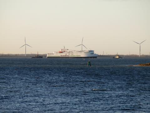 M/F Copenhagen maiden voyage