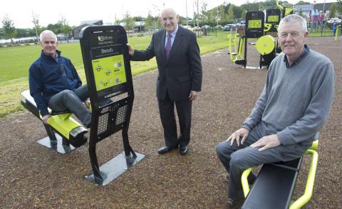 Portglenone village renewal works complete