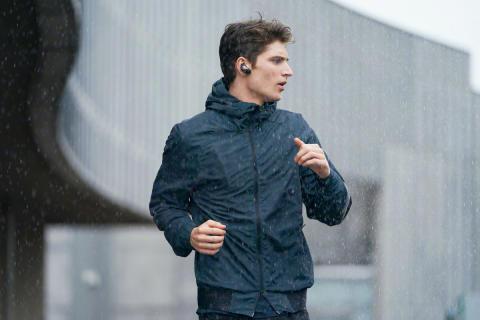 Cuffie sportive wireless con tecnologia di cancellazione del rumore da indossare sempre e ovunque