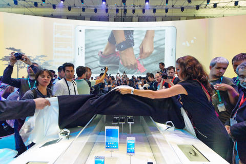 Sony IFA booth Xperia