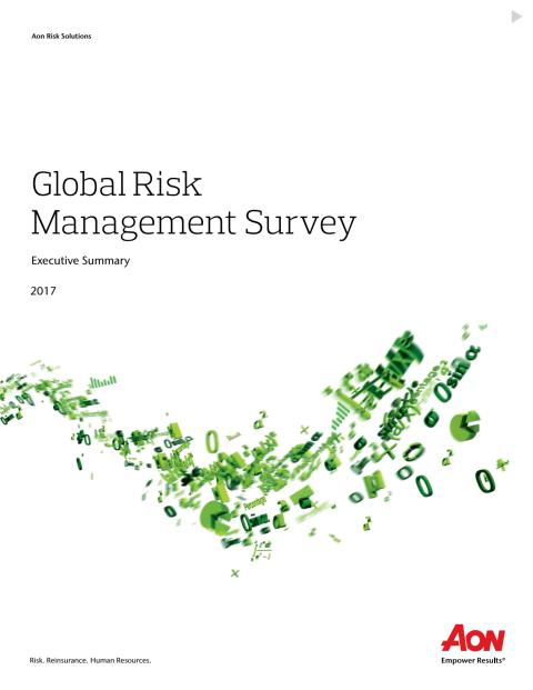 2017 Global Risk Management Report - Extended Executive Summary