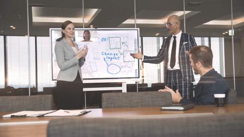 Ricoh viser innovasjon som driver samhandling og produktivitet på ISE 2020