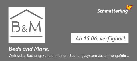 "Schmetterling: Neues Add-on ""Beds and More"" ab 15. Juni verfügbar"