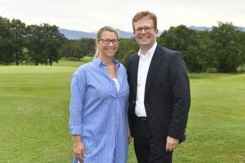 Von links: Dr. Christine Bortenlänger, Dr. Bernd Hochberger