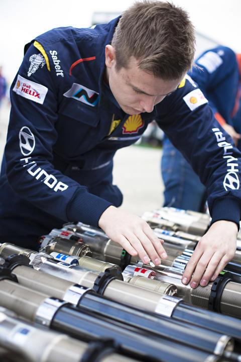 Espen Ruud, Hyundai Motorspot