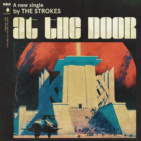 TheStrokes_Singelomslag - At The Door - HR