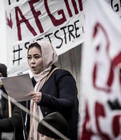 19-ÅRIGA ZAHRA FÅR PRIS I RAOUL WALLENBERGS ANDA FÖR SITT CIVILKURAGE OCH MOD