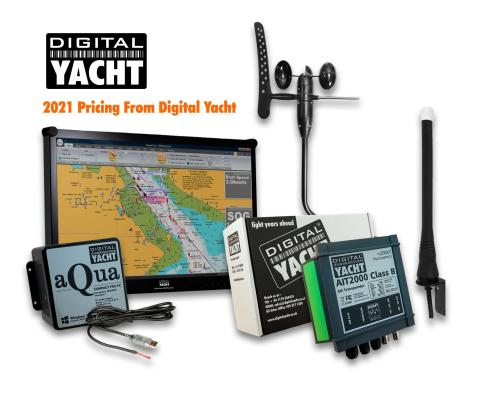 Digital Yacht 2021 US$ Pricelist Now Available