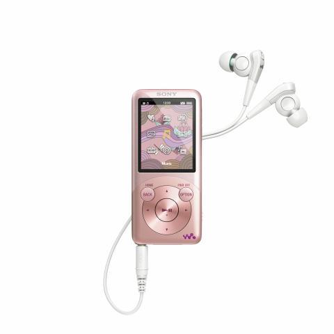 WALKMAN S750-Serie von Sony_Rosa_01