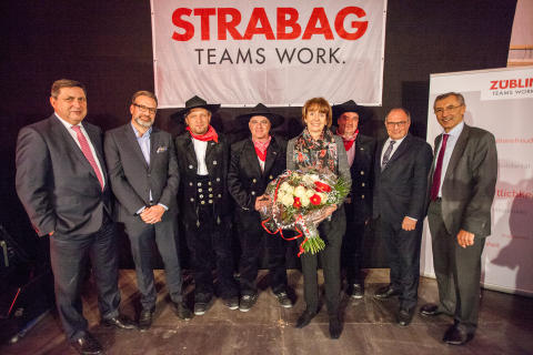 STRABAG, topping out ceremony SIEGI241