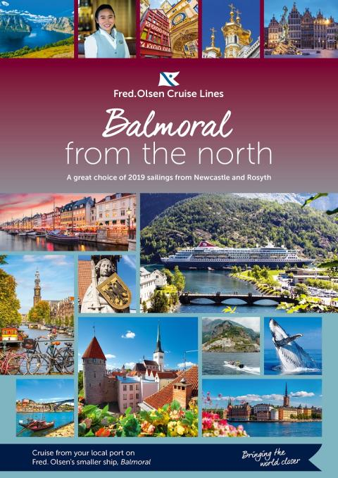 Fred. Olsen brings flagship 'Balmoral' 'closer' to the north again in 2019