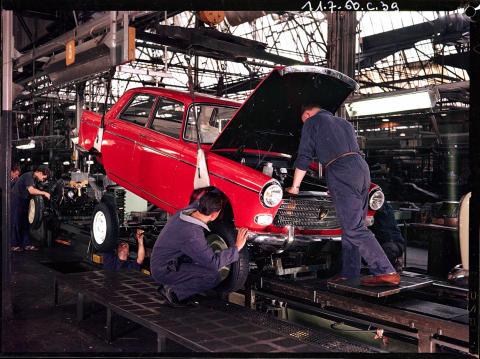 Peugeots fabrik i Sochaux firar 100 år!