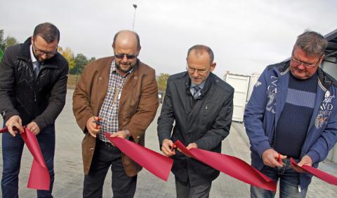 Eröffnung Wertstoffhof Ahrensfelde