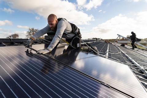 Hundra nya solcellsanläggningar under 2019