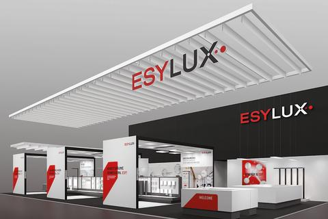 Med modernisert design og to stands: ESYLUX på Light + Building 2018