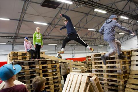 Actionparken på Nordic Outdoor
