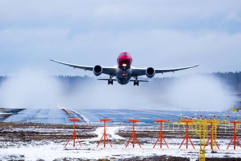 Norwegian med 13 procent passagervækst i januar