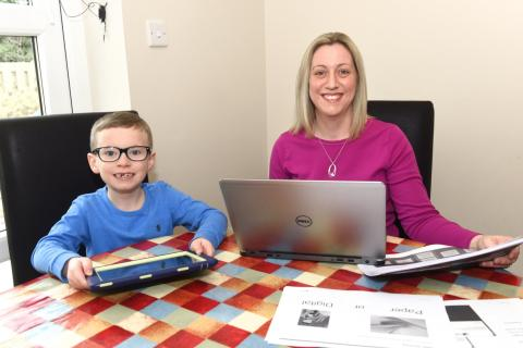 Local family benefits thanks to Digital Scotland Superfast Broadband