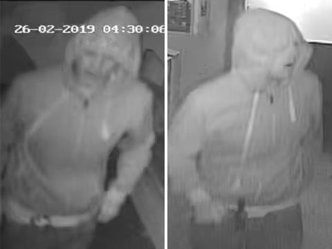 Police release CCTV image of Sayers Common shop burglary suspect