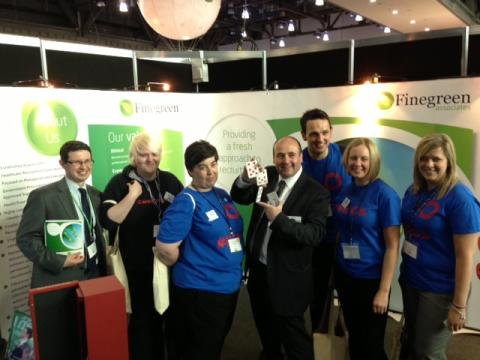 Finegreen at NHS Confed 2013