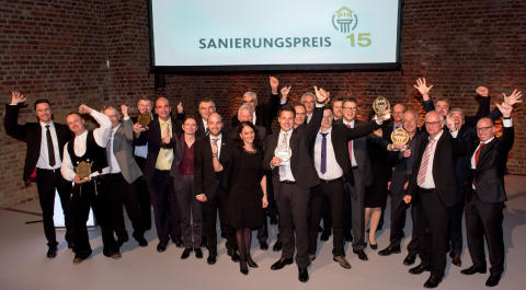 Sanierungspreis 15: Die Gewinner