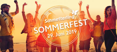 Touristik-Event mit attraktivem Rahmenprogramm: Schmetterling International feiert am 29. Juni 2019 sein Sommerfest
