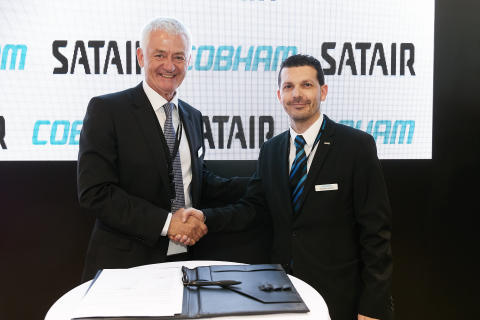 Satair and Cobham Aerospace Communications renew Asia-Pacific Middle East distribution agreement