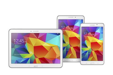 Samsung Galaxy Tab 4 er landet