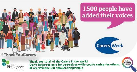 Carers' Week 2020 - Making Caring Visible