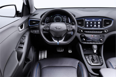 Hyundai IONIQ interiør (II)
