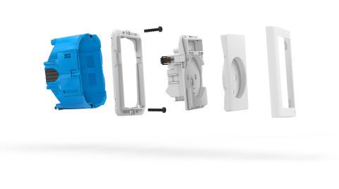 Ny forfradåse afløser Schneider Electrics blå LK-klassiker som udgår