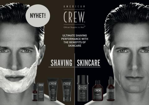American Crew Shave re-lanseres