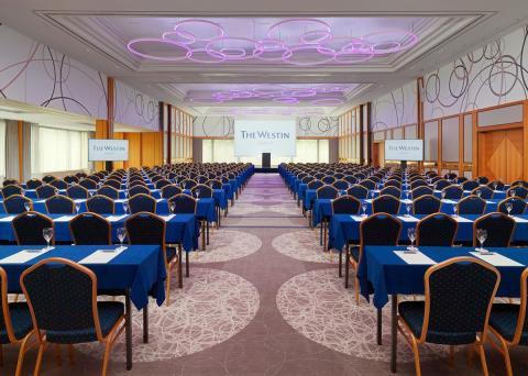 Der Ballsaal des Konferenzbereiches