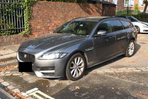 Jaguar car - Kilburn murder