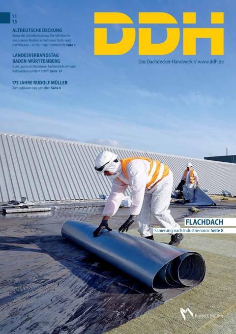 Das neue DDH Das Dachdecker-Handwerk mit neuem Logo und modernisierter Optik