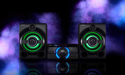 Sony'nin yeni yüksek güçlü ses sistemleri ile yılın partisini düzenleyin