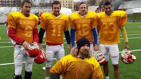 Viasat og Nettavisen samarbeider om Super Bowl-serie med norske fotballkjendiser