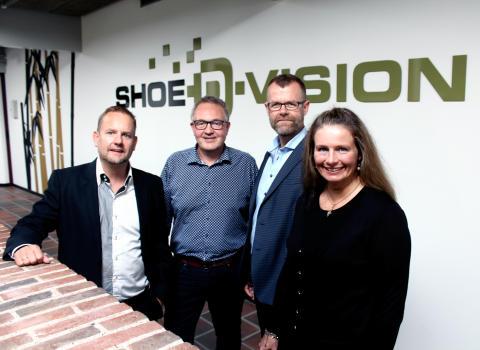 Klaus Kristensen, Torben Storgaard, Asger Simonsen og Christina Goth