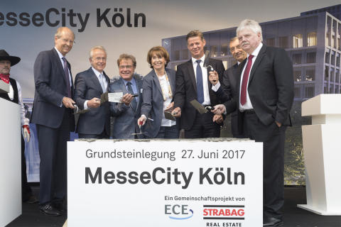 Grundstein für MesseCity Köln ist gelegt