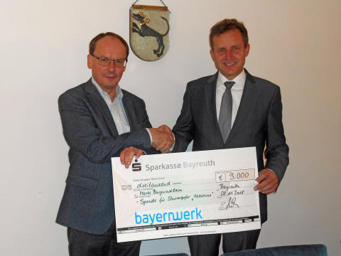Nach Verwüstung durch Sturmtief Fabienne: Bayernwerk unterstützt Spendenaktion in Burgwindheim
