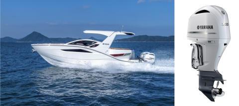 「SR320FB」 「SR330」 のイメージを一新 V6型船外機への新色設定とともにボート4モデルへ搭載