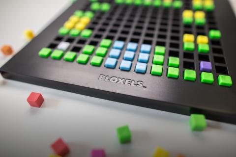 Bloxels Spielbrett