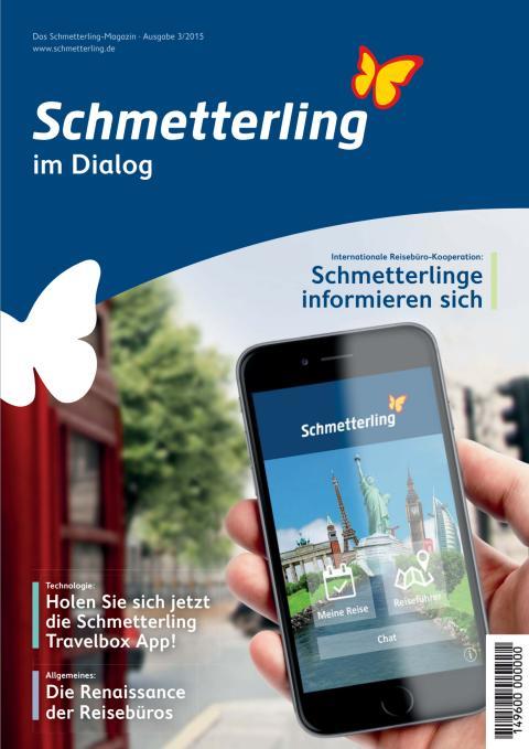 Schmetterling im Dialog - Magazin September 2015