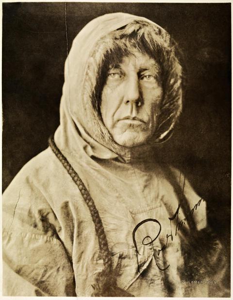 Roald Amundsen Nasjonalbiblioteket