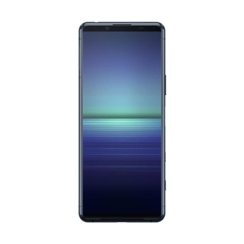 Xperia 5 II_front_blue