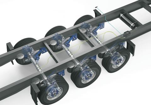 Spart laufend Kraftstoff, Reifen, Zeit und CO2: BPW liefert ab sofort intelligente Reifendruck-Regelanlage AirSave