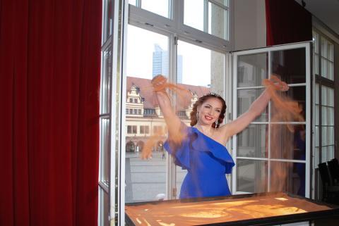 Live-Sand-Show ab dem 27. Juli 2019 im Blauen Salon des Central Kabaretts Leipzig