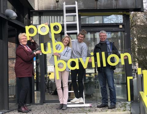Pop Up Pavillon April 2019